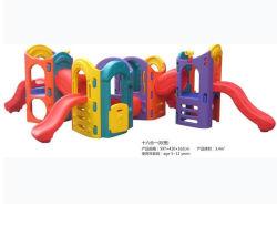 Parque de atracciones de interior, la familia y el uso de Kindergarten en el interior de las ventas de diapositivas
