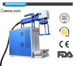 bewegliche Laser-Markierungs-Maschine der Faser-30W, zum des Feder-/Bleistift-/Schreibens-Pinsel-Gravierfräsmaschine-Lasers zu markieren