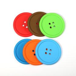 Decoração de acessórios de mesa Silicone Coasters Pastilha