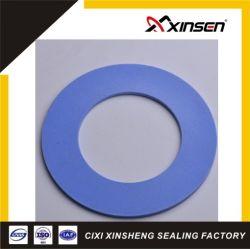 La couleur bleue solide joint de bride en Téflon PTFE pour joint de l'industrie