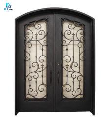 2019 горячие продажи основной конструкции двери стальные двери из кованого железа