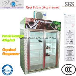 Afficher Cold Storage pour le vin avec unité de condensation à haute efficacité énergétique