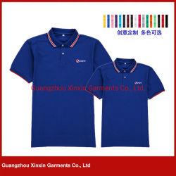 工場顧客用高品質の人(P464)のための安い価格の綿のポロシャツ