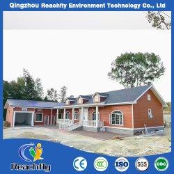 Vorfabrizierter Gebäude-chinesischer Hersteller-hölzernes Haus-Stahlkonstruktion-Mobile-Haus