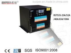 ラック(RSTS333-100A 380V 66KW 3Poleの石シリーズ)が付いている静的な転送スイッチ