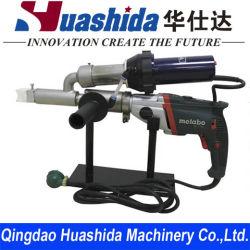 ماكينة لحام البلاستيك المحمولة بالهواء الساخن مخلص بلاستيكي PE/PP/PVC ماكينة اللحام