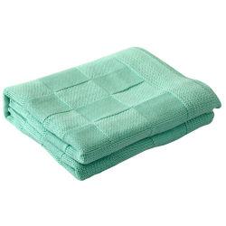 100% coton tricotés Couverture Bébé doux