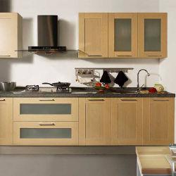 Америки модульный шкаф цельной древесины роскошь кухонной мебели