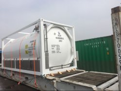 20000L ISOのN2o Gas Filled Tank Container
