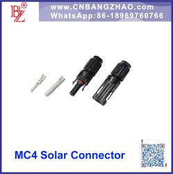 Módulo PV de macho y hembra Mc4 Conector para el sistema Phoectricicy