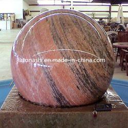 Le granit pierre ronde Fontaine Sphère flottante / boule pour Jardin / Patio
