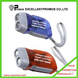 Динамо рукой нажмите аккумулятор фонарик светодиодный светильник (EP-T0851)