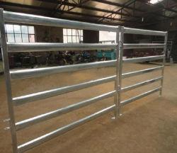 工場オーストラリアへの頑丈な6rails牛ヤードのパネルか家畜のヒツジのパネル
