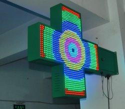 P10 LEIDENE van de Kleur van DIP346 RGB Volledige Dubbele Zij DwarsVertoning van de Apotheek