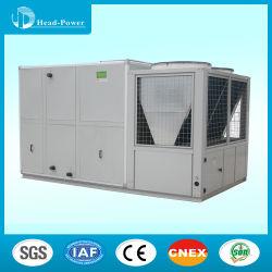 Unità impaccate del condizionatore d'aria del tetto di Dx raffreddate aria, acciaio galvanizzato doppia pelle