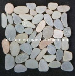 Venta caliente de pizarra natural de Alta Decoración de pared de piedra mosaico irregular