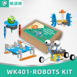 Kits de bricolage conhecimento físico de Modelo Experimental de Ciências de observação de brinquedos para crianças de Robô Quadruped