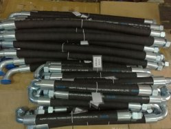 R4 de alta presión de aspiración de aceite de la manguera de retorno