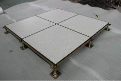 De opgeheven Vloer van de Toegang. HPL, Centrum van de Gegevens van het Comité van het Staal van het Cement van pvc het Opgevulde