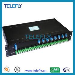 Для установки в стойку оптический разветвитель PLC, оптоволоконный кабель разветвитель кабеля питания