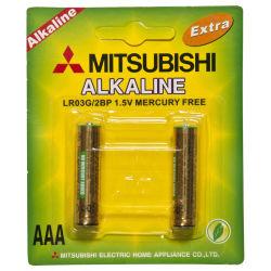 Mitsubishi LR03 alcaline AAA 1,5V jouet de la batterie batterie sèche Am3 Haut de la batterie alcaline de l'usine de la batterie
