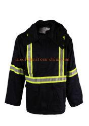 Flame Retardant 88% Coton 12% Nylon Hommes Veste de travail hiver Parka