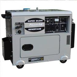 6 kw super silencioso poderoso gerador de gasolina para uso doméstico com marcação GS Cert