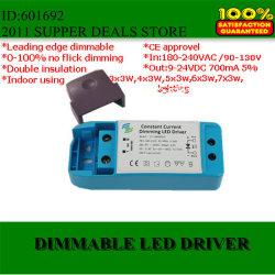 Светодиодный драйвер высокого качества с регулируемой яркостью подсветки Edge 3-7x3W 700Ма 120/220V