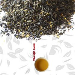[شنس] [أسمنثوس] شاي زهرة شاي [شنس] [غرين تا]
