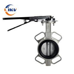 Fabriqué en Chine Tianjin soupape Ferreteria Prix galette en fonte Tuyau en acier inoxydable de contrôle de l'eau des robinets à papillon