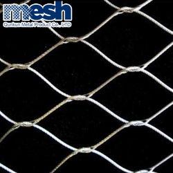 鋼線ロープの網のネット、斜面の保護ネットワーク