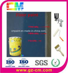 Piso de oficina de pintura à base de água de resina epóxida Non-Slip Pintura de piso