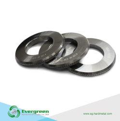 Larga vida tres lados carburo de tungsteno guión rodillo para cable de acero utilizado en el cable par de casetes