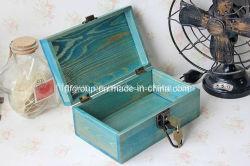 Finition antique Chic boîte cadeau en bois pour l'emballage en bois