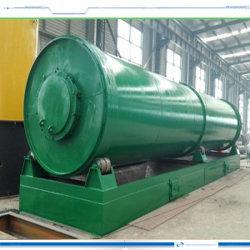 Vollautomatische führende überschüssige Gummireifen-Pyrolyse-Raffinerie-Maschine