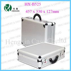 Agregado de aluminio Portátil disco duro de perfil de los casos (HX-B525)