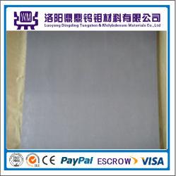 Prix d'usine 99,95% Feuilles / plaques de molybdène pur Feuilles de tungstène / Plaques pour four à vide