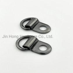 Fivela metálica em D anel de encaixe profundo fivela do gancho da sapata de avanço