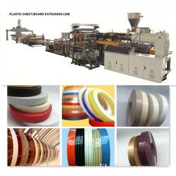 آلة تصنيع الورق PVC لصنع قطع الأثاث على الحافة / خط إنتاج التباين الطرفي
