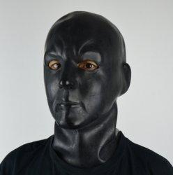 2016의 새로운 섹시한 유액 물신 인간적인 가면 두건 고무 3D는 물신 가면 헤드 공상 모자류 Gummi 인간적인 Zentai 착용 새로운 Sm를 주조했다