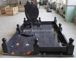Estilo Europeu Shanxi preto em forma de Livro Memorial/Gravestone/Tombstone