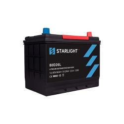 De hete Automobiele Batterij 80d26L van de Verkoop LiFePO4 12V CCA1400/de Batterij van de Auto van het Lithium