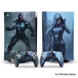 PS5 contrôleur de la console d'accessoires de jeu vidéo de la peau Chargeur Dock station de charge de l'affaire Hack capot de la plaque d'amarrage