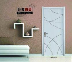 La preuve de l'eau, salle de bains porte en plastique en bois composite WPC Portes porte