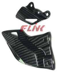 Protetores do salto das peças de fibra do carbono da motocicleta para Honda Cbr 1000rr 08-11