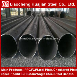 Приварите черного углеродного стальную трубу в разных размеров