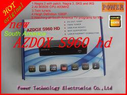 브라비시모 위성 수신기, HD 트윈 튜너 브라비시모 지원 SKS 및 Iks Linux OS 셋톱 박스 나가라 3 Azdox S960 위성 수신기