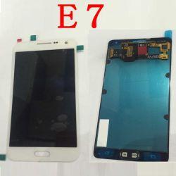 Écran LCD du téléphone mobile pour Samsung E7 LCD Assemblée du numériseur