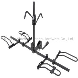 "Alta calidad de 2 Bike Rack - Reclinadas - 1-1/4""/ 2 enganches"" - Montaje en bastidor"