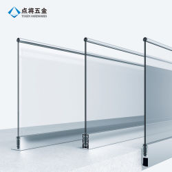 Nieuwe frameloze balkonbons